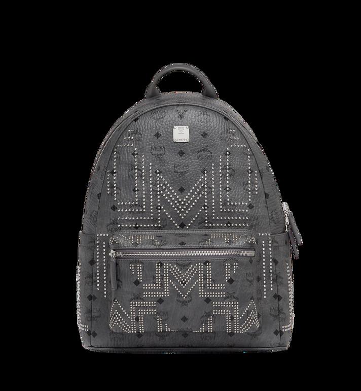 MCM Stark Backpack in Gunta M Studs Visetos Alternate View