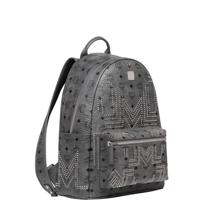 MCM Stark Backpack in Gunta M Studs Visetos MMK8AVE55EP001 AlternateView2