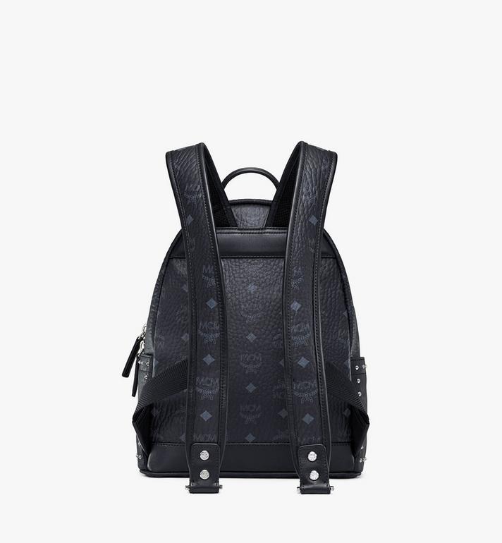 MCM Stark Backpack in Studded Outline Visetos  MMK8AVE61BK001 Alternate View 4