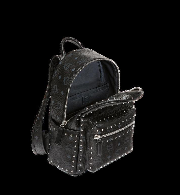MCM Stark Backpack in Studded Outline Visetos  MMK8AVE61BK001 Alternate View 5