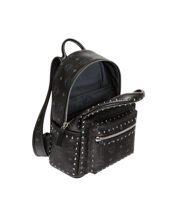 MCM Stark Backpack in Studded Outline Visetos MMK8AVE61BK001 AlternateView5