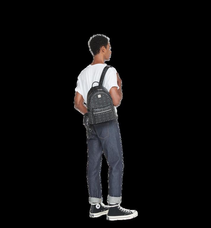 MCM Stark Backpack in Studded Outline Visetos MMK8AVE61BK001 AlternateView7
