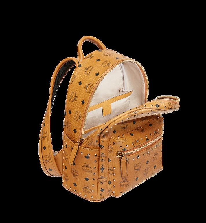 MCM Stark Backpack in Studded Outline Visetos Cognac MMK8AVE61CO001 Alternate View 5
