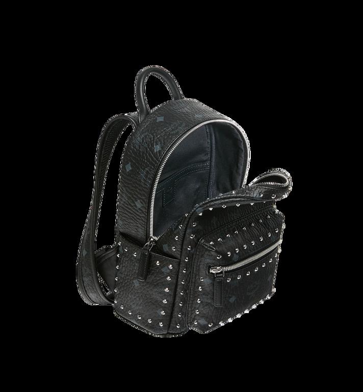 MCM Stark Backpack in Studded Outline Visetos Black MMK8AVE62BK001 Alternate View 5
