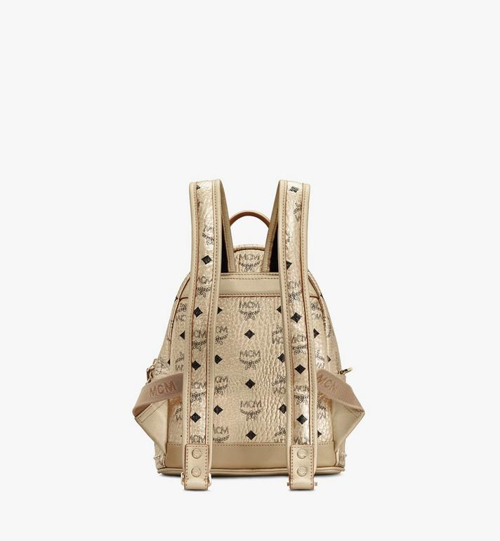 MCM Stark Backpack in Studded Visetos Gold MMK8AVE66T1001 Alternate View 3