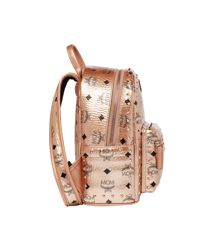 MCM Stark Backpack in Studded Outline Visetos  MMK8AVE66TC001 Alternate View 3
