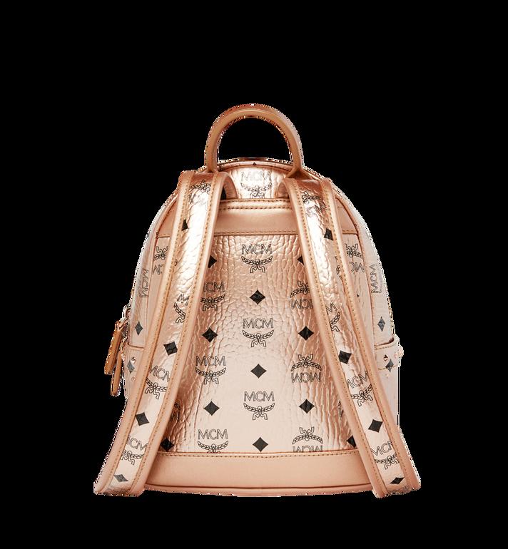 MCM Stark Backpack in Studded Outline Visetos  MMK8AVE66TC001 Alternate View 4
