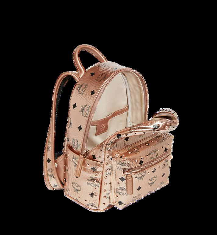 MCM Stark Backpack in Studded Outline Visetos  MMK8AVE66TC001 Alternate View 5