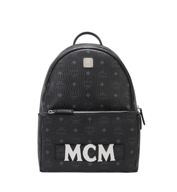 MCM Trilogie Stark Backpack in Visetos Alternate View