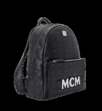 MCM Trilogie Stark Backpack in Visetos Alternate View 2