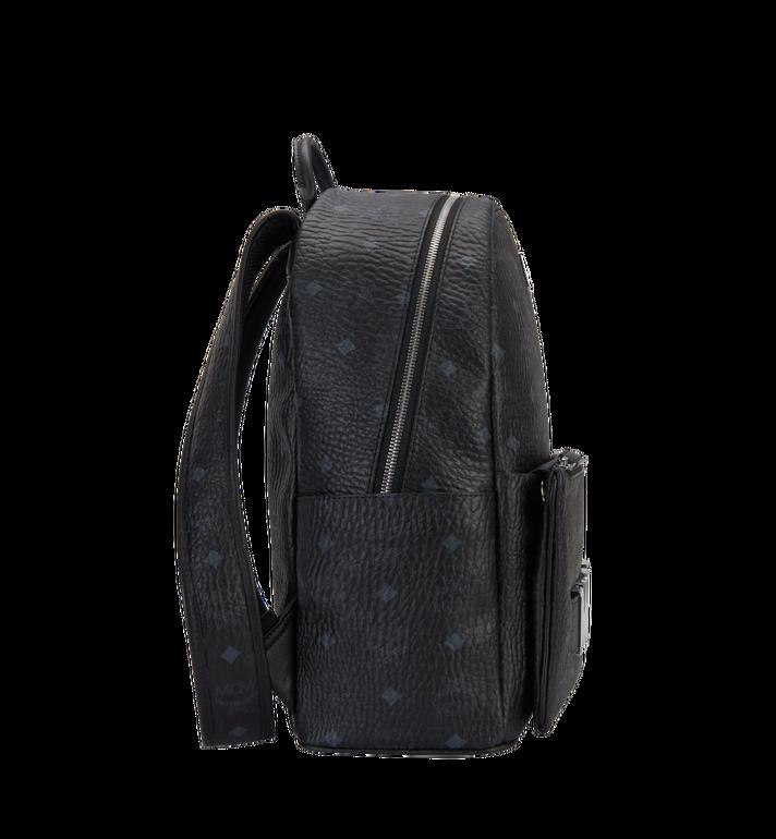 MCM Trilogie Stark Backpack in Visetos  MMK8AVE72BK001 Alternate View 3