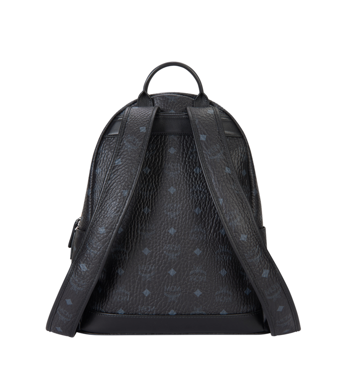 MCM Trilogie Stark Backpack in Visetos MMK8AVE72BK001 AlternateView4