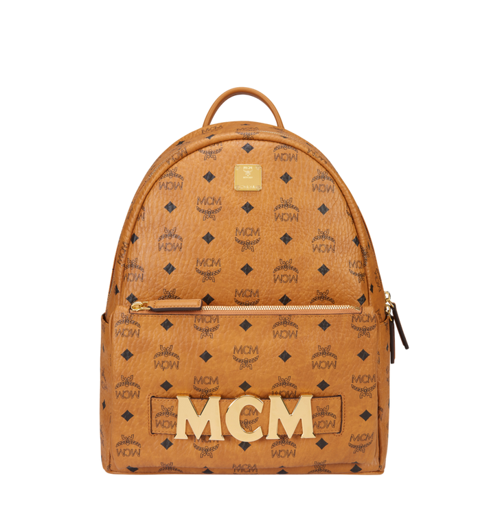 MCM Trilogie Stark Backpack in Visetos MMK8AVE72CO001 AlternateView