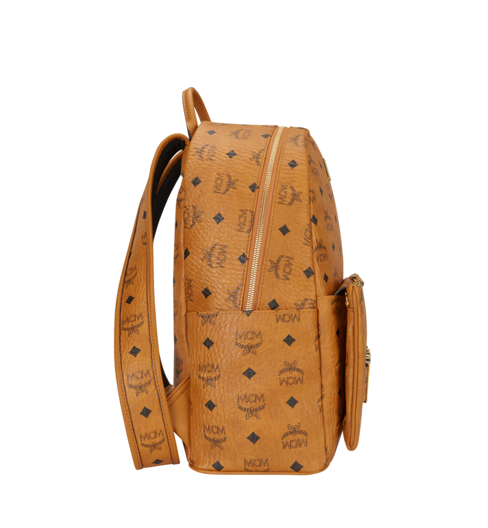 MCM Trilogie Stark Backpack in Visetos MMK8AVE72CO001 AlternateView3