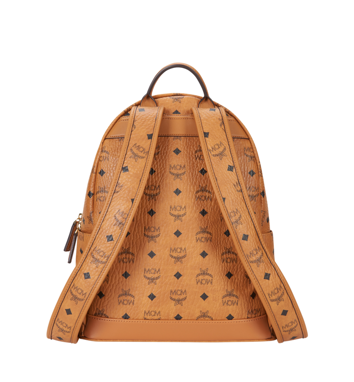 MCM Trilogie Stark Backpack in Visetos MMK8AVE72CO001 AlternateView4