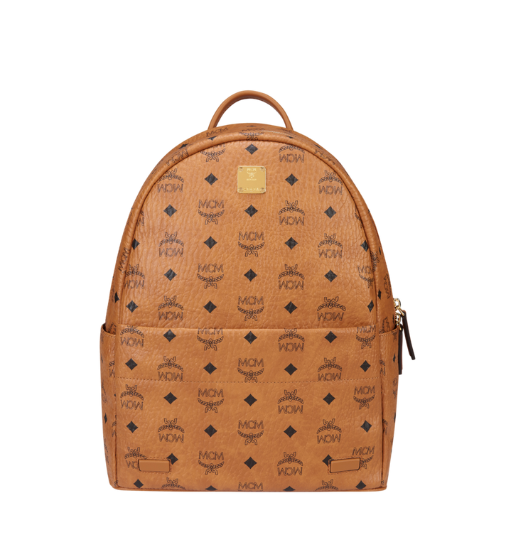 MCM Trilogie Stark Backpack in Visetos MMK8AVE72CO001 AlternateView5