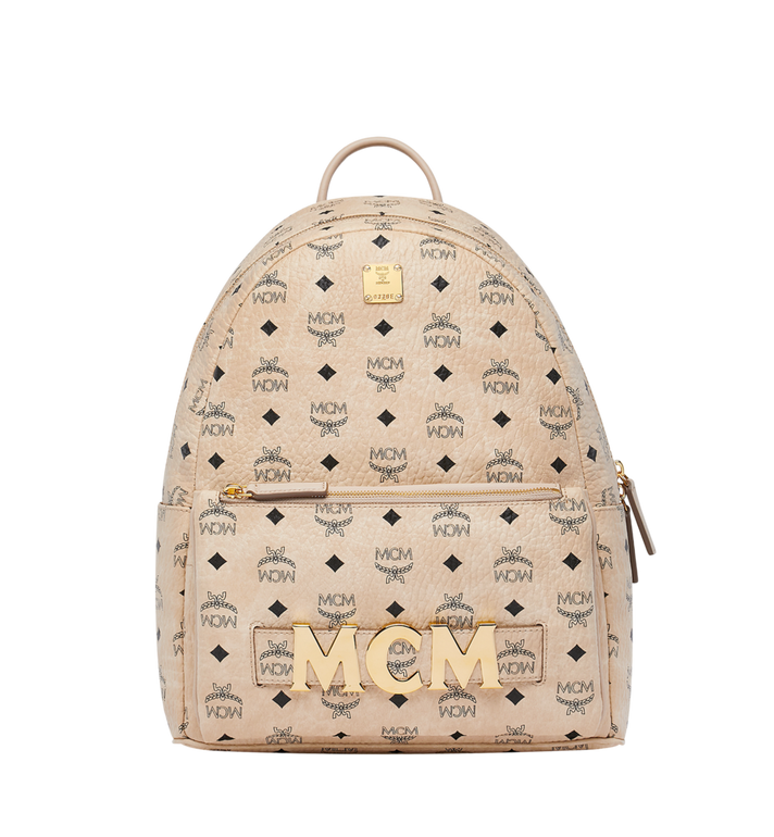 MCM Trilogie Stark Backpack in Visetos MMK8AVE72IG001 AlternateView