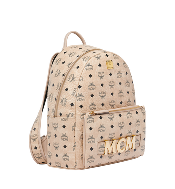 MCM Trilogie Stark Backpack in Visetos MMK8AVE72IG001 AlternateView2