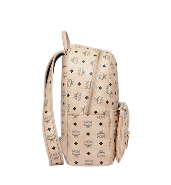 MCM Trilogie Stark Backpack in Visetos MMK8AVE72IG001 AlternateView3