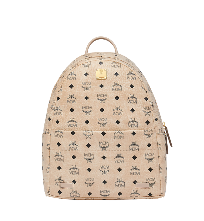 MCM Trilogie Stark Backpack in Visetos MMK8AVE72IG001 AlternateView5