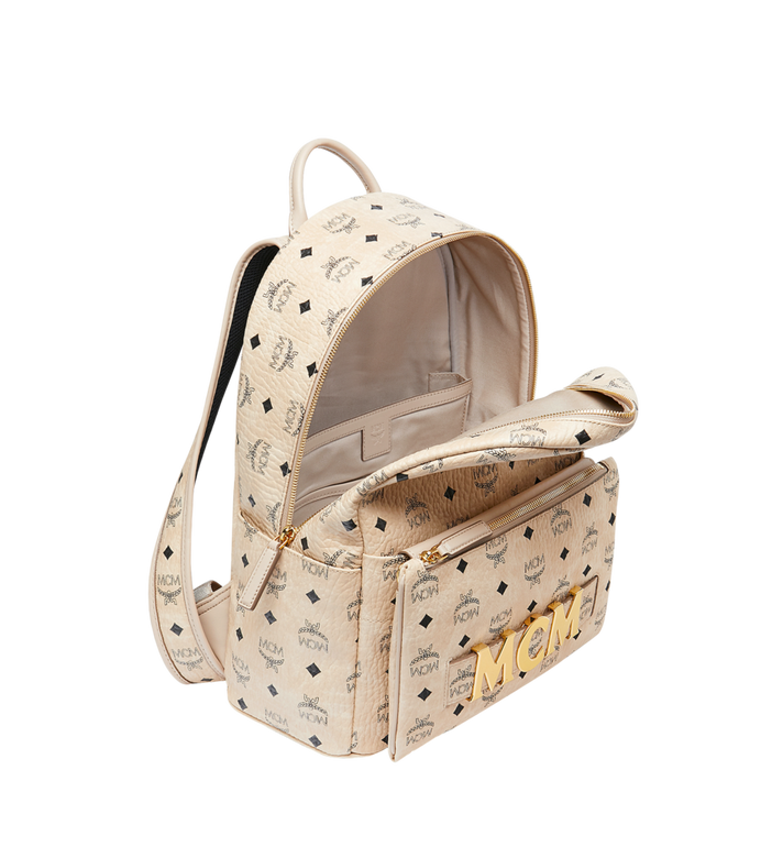 MCM Trilogie Stark Backpack in Visetos AlternateView7