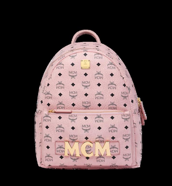 MCM Trilogie Stark Backpack in Visetos MMK8AVE72PZ001 AlternateView