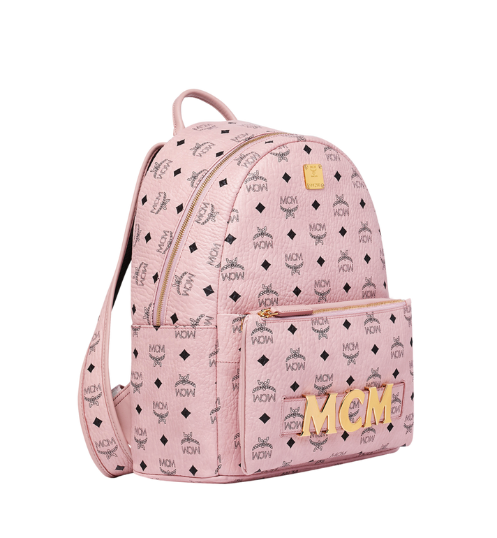 MCM Trilogie Stark Backpack in Visetos MMK8AVE72PZ001 AlternateView2