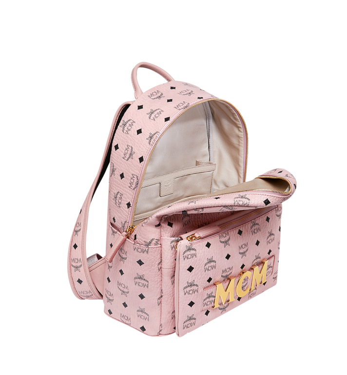 MCM Trilogie Stark Backpack in Visetos MMK8AVE72PZ001 AlternateView7