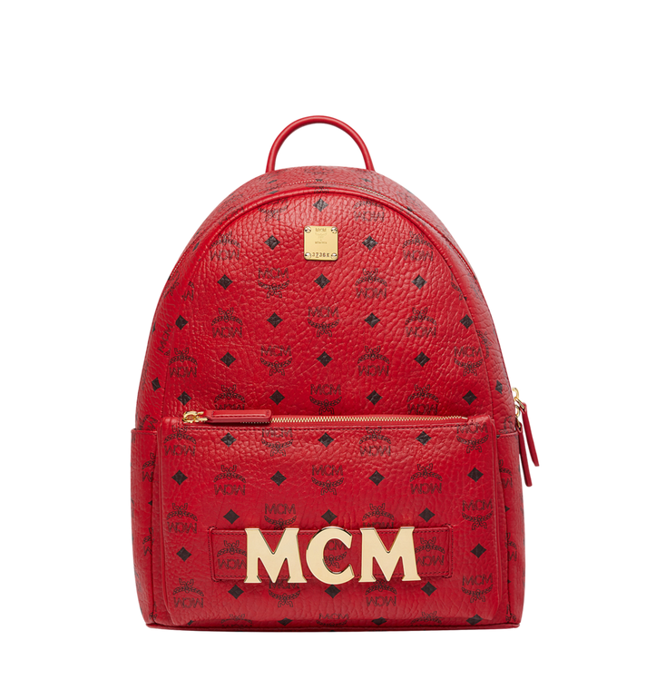 MCM (MCM)RED Trilogie Stark Backpack in Visetos MMK8AVE72RU001 AlternateView