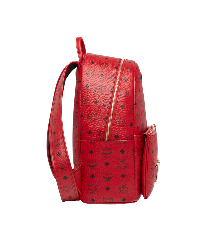 MCM (MCM)RED Trilogie Stark Backpack in Visetos Alternate View 3