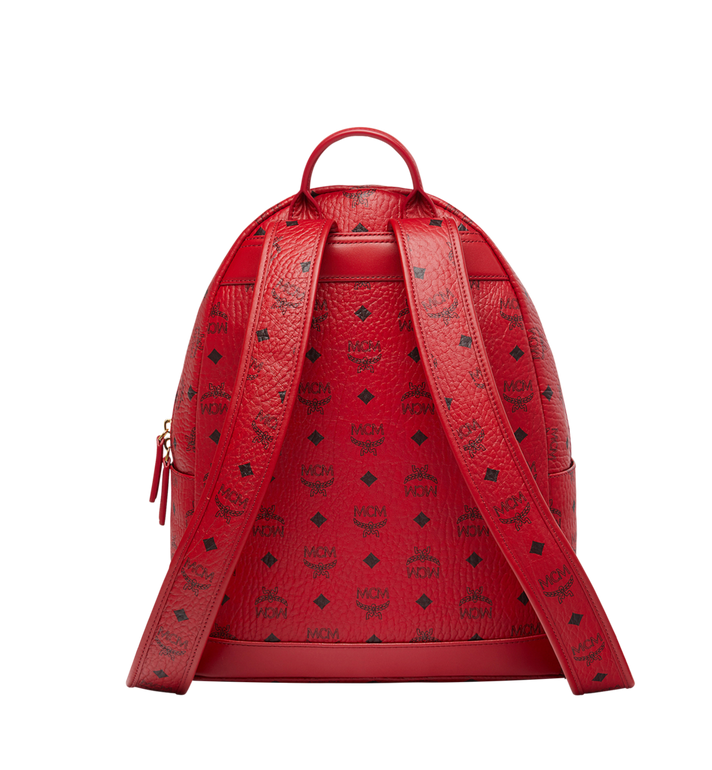 MCM (MCM)RED Trilogie Stark Backpack in Visetos MMK8AVE72RU001 AlternateView4