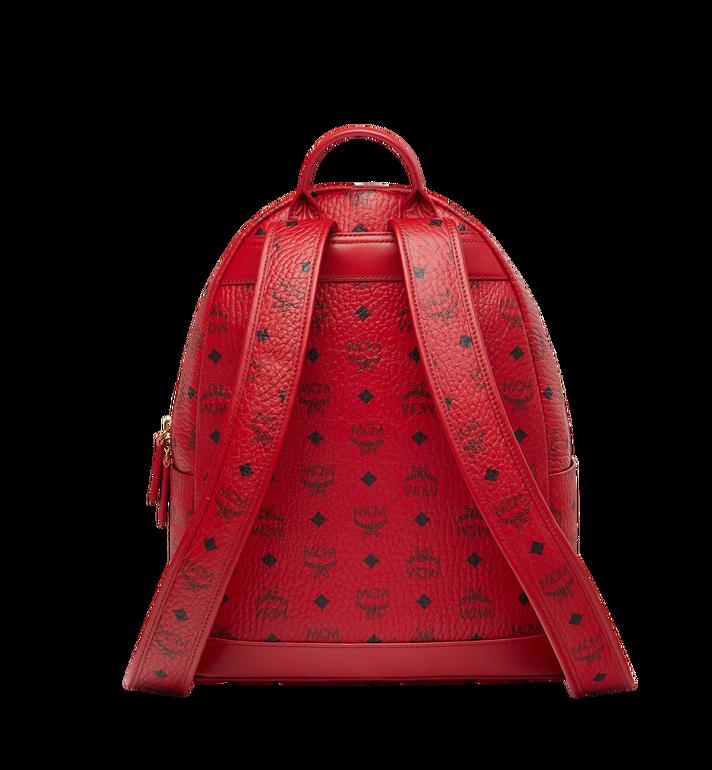 MCM (MCM)RED Trilogie Stark Backpack in Visetos Alternate View 4