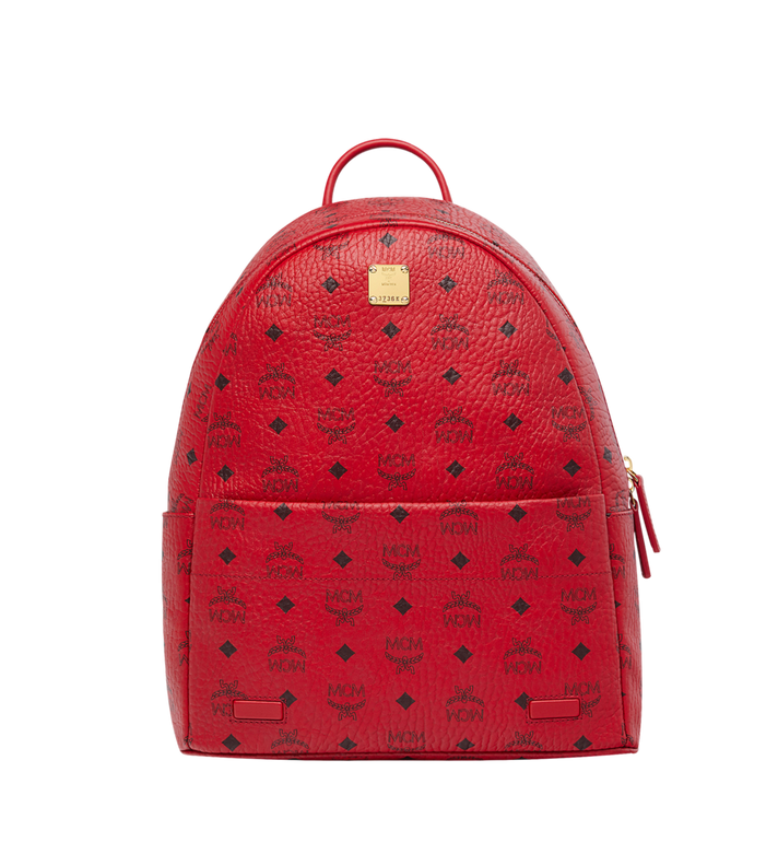 MCM (MCM)RED Trilogie Stark Backpack in Visetos MMK8AVE72RU001 AlternateView5