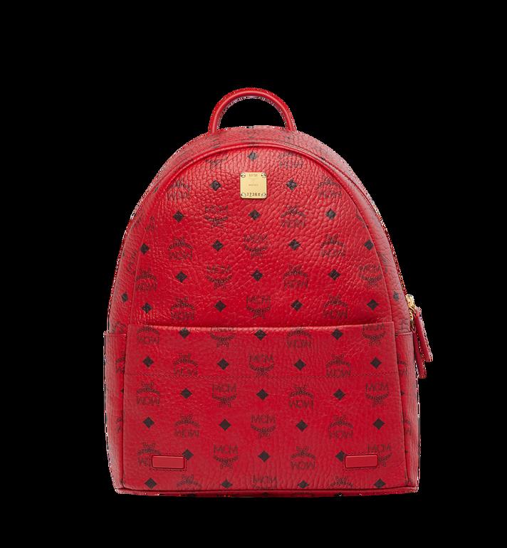 MCM (MCM)RED Trilogie Stark Backpack in Visetos Alternate View 5