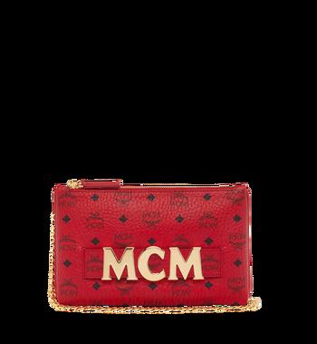 MCM (MCM)RED Trilogie Stark Backpack in Visetos Alternate View 6