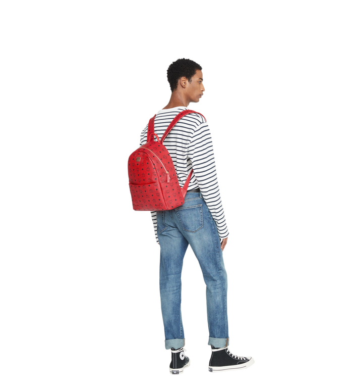 MCM (MCM)RED Trilogie Stark Backpack in Visetos MMK8AVE72RU001 AlternateView8