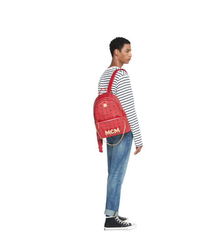 MCM (MCM)RED Trilogie Stark Backpack in Visetos MMK8AVE72RU001 AlternateView10