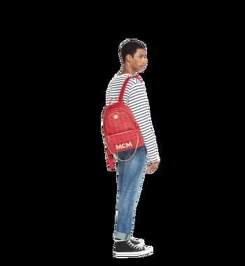 MCM (MCM)RED Trilogie Stark Backpack in Visetos Alternate View 10