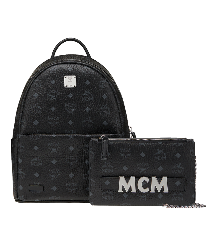 MCM 트릴로지 스타크 백팩 Black MMK8AVE83BK001 Alternate View 2