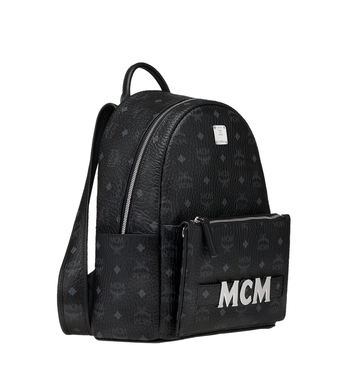 MCM 트릴로지 스타크 백팩 Black MMK8AVE83BK001 Alternate View 3