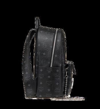 MCM Trilogie Stark Backpack in Visetos MMK8AVE83BK001 AlternateView4