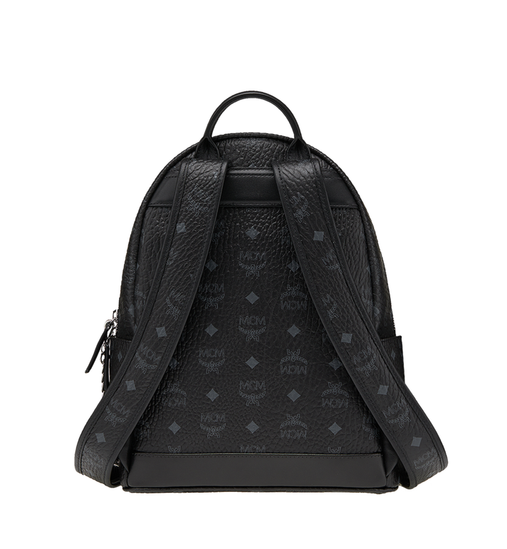 MCM Trilogie Stark Backpack in Visetos MMK8AVE83BK001 AlternateView5