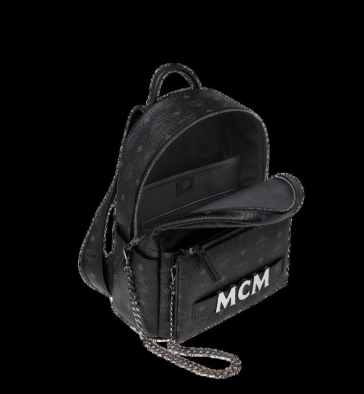 MCM Trilogie Stark Backpack in Visetos MMK8AVE83BK001 AlternateView6