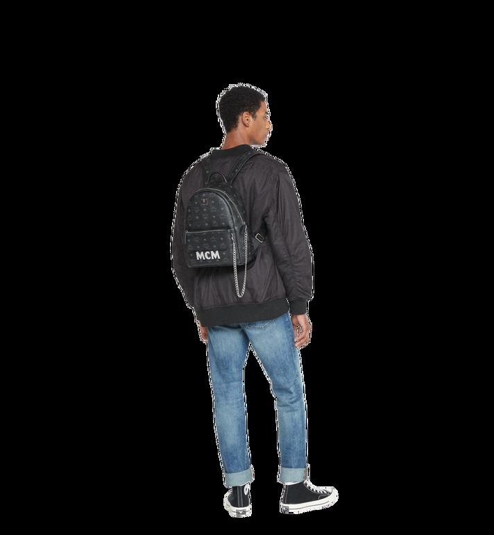 MCM Trilogie Stark Backpack in Visetos MMK8AVE83BK001 AlternateView8