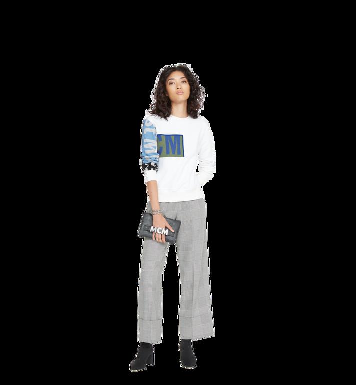 MCM Trilogie Stark Backpack in Visetos MMK8AVE83BK001 AlternateView10