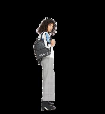 MCM Trilogie Stark Backpack in Visetos MMK8AVE83BK001 AlternateView12