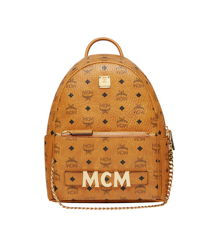 MCM Trilogie Stark Backpack in Visetos AlternateView