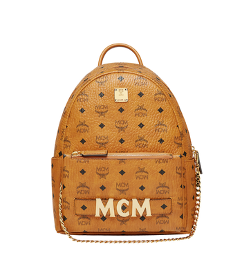 MCM Trilogie Stark Backpack in Visetos MMK8AVE83CO001 AlternateView