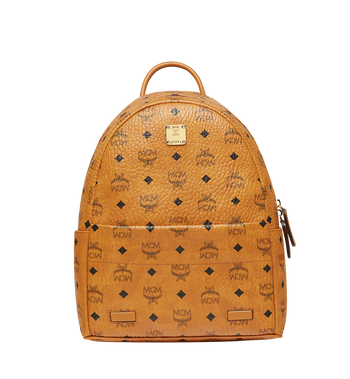 MCM Trilogie Stark Backpack in Visetos MMK8AVE83CO001 AlternateView5