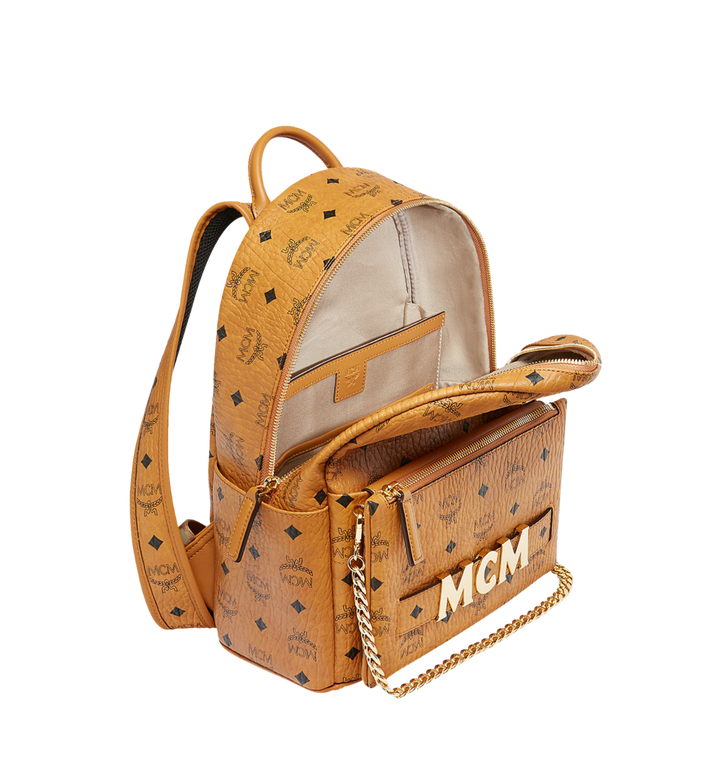 MCM Trilogie Stark Backpack in Visetos Alternate View 7